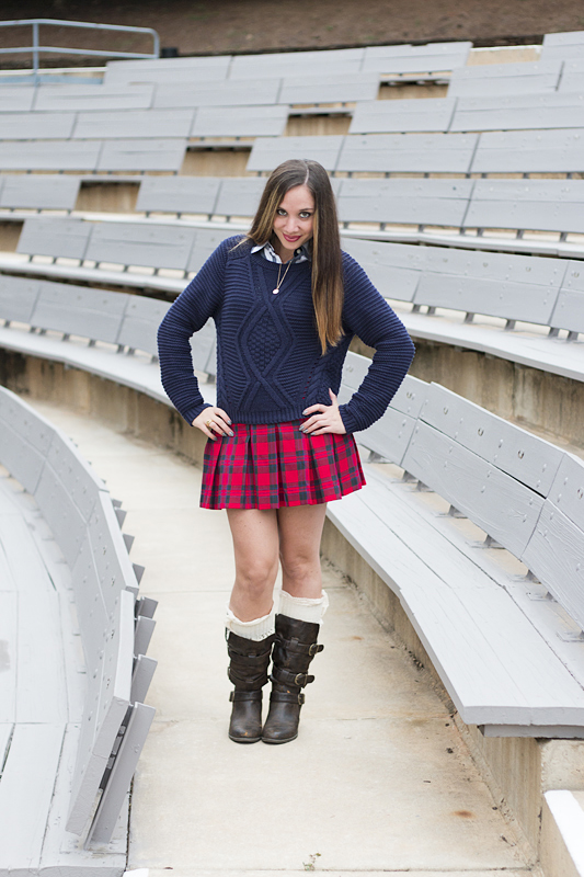 Plaid Skirt - 3