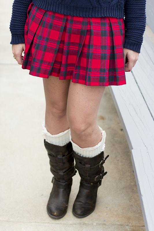 Plaid Skirt - 4